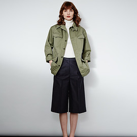 shinzone - PLEATED CULOTTES
