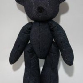 detour life - REBIRTH BEAR BLACKDENIM