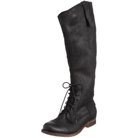 JEFFREY CAMPBELL - Nubuck Lace-up long boots #FJF565