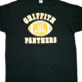 VINTAGE - Vintage 1988 Griffith Panthers LSC Co Champs Shirt Mens Size Large