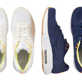 A.P.C., Nike - Air Max 1 WHITE & BLUE