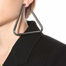 BALENCIAGA - Triangle single earring