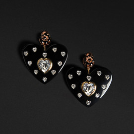 DOLCE&GABBANA - heart earrings