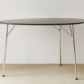 Fritz Hansen - Egg Table 100th anniversary model by Arne Jacobsen