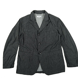 ENGINEERED GARMENTS - Bedford Jacket-Diamond Pique-Charcoal