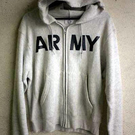 "Champion - US G.I. Sweat Hoodie ""ARMY"" Print"
