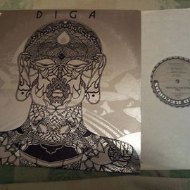 DIGA RHYTHM BAND - Diga/DIGA RHYTHM BAND: Mickey Hart Grateful Dead Lp