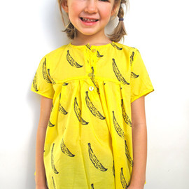 nonchalantmom - BOBO CHOSES bananas blouse