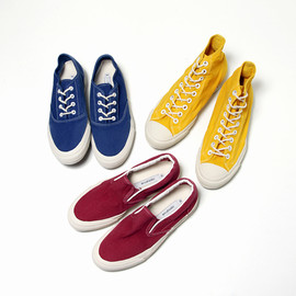 nonnative - DWELLER Trainers Cotton Canvas Overdyed Series