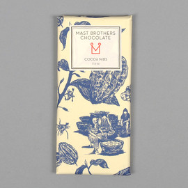 "Mast Brothers - ""Cocoa Nibs"" Chocolate Bar"