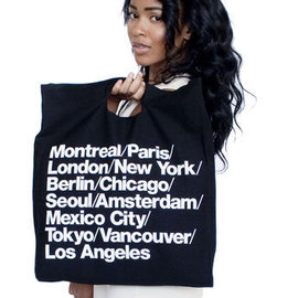 American Apparel - Bull Denim Woven Cotton Cities Bag