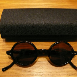 Porter Classic - PC. SUNGLASSES/ Round Brown Frame X Color Lens