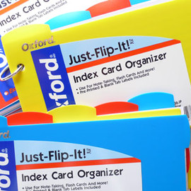 Oxford - Index Card Organizer