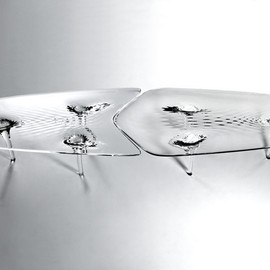 Zaha Hadid Architects - liquid glacial table