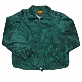 Eddie Bauer - Vintage Eddie Bauer Green Nylon Jacket Mens Size Medium