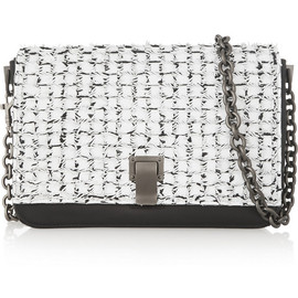 PROENZA SCHOULER - Courier small two-tone leather shoulder bag