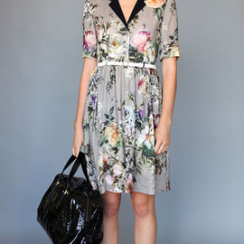 KAREN WALKER - Collared Dress Bouquet