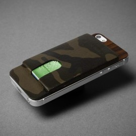 KILLSPENCER - TAFFETA CAMO & ROSEWOOD : CARD CARRIER 2.0 for iPhone5