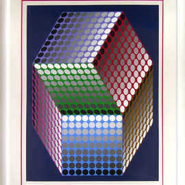 Ond LZ by Victor Vasarely Limited Edition Print - WorldGallery.