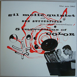 """Gil Melle Quintet With Don Butterfield  - 5 Impressions Of Color (Vinyl,10"""", 33 ⅓ RPM, EP, Limited Edition, Reissue, Mono )"""