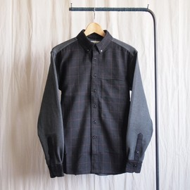 Dr.shirt - tone or tone #navy/gray