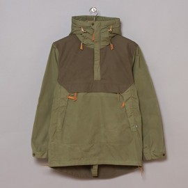 FJALLRAVEN - Numbers Anorak No.8 - Green/Tarmac