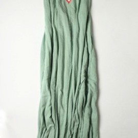 Surf Bazaar - Gauze Halter Dress (Seafoam/Sunset)