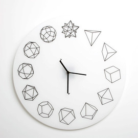 Paula Collective - Solid Ho Clock(white)