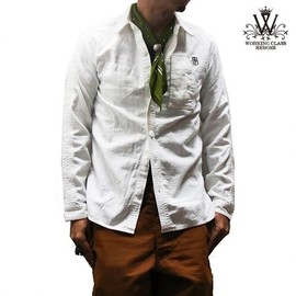 WORKING CLASS HEROES - WCH WORK SHIRTS (WHITE)