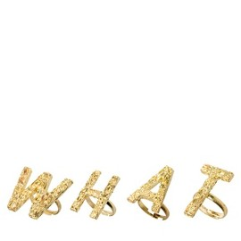 ASOS Collection - WHAT Multifinger Adjustable Rings