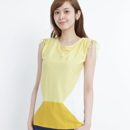SILAS - ABBY TOP | Yellow