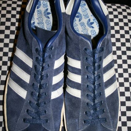 adidas - campus : navy suede  made in france