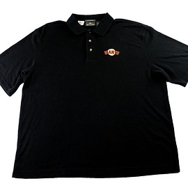 MLB - San Francisco Giants Embroidered Antigua MLB Black Polo Shirt Mens Size XL