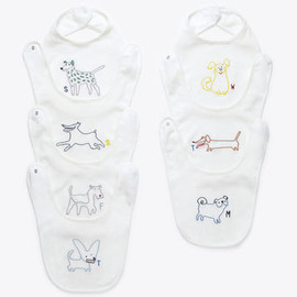 Stella McCartney Kids - Teddie days of the week bib set