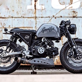 K-SPEED - HONDA Gorilla Cafe racer / Honda Monkey 125
