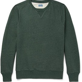 J.Crew - Saddle Loopback Cotton-Jersey Sweatshirt