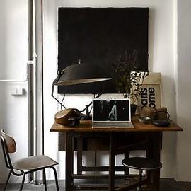 Vintage inspired office spaces
