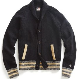 Todd Snyder - Baseball Jacket Sweater