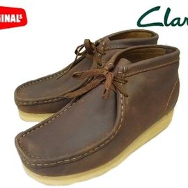 Clarks - Clarks WALLABEE BOOT BEESWAX