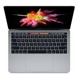 Apple - 13-inch MacBook Pro with Touch Bar and Touch ID (2017)