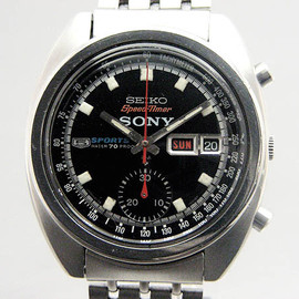 SEIKO - 5SPORTS Speedtimer x SONY