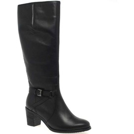 Gabor - Gusto Long Black Leather Boots