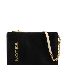 MOSCHINO - leather NOTES bag