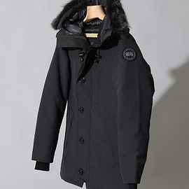 CANADA GOOSE, EDIFICE - EDIFICE EXCLUSIVE CHATEAU PARKA*BLACKDISC(navy)