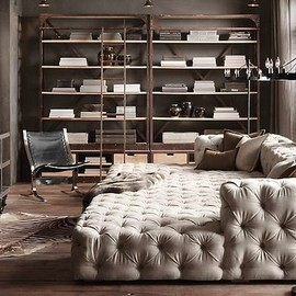 Restoration Hardware - Soho Tufted Upholstered Daybed