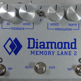 Diamond  - Memory Lane 2 - Analog Delay Pedal