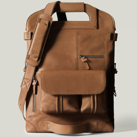 Hard Graft - 2UNFOLD LAPTOP BAG / HERITAGE
