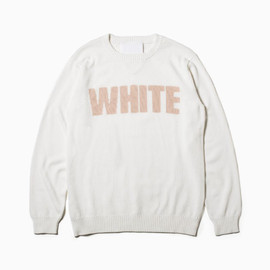 the POOL aoyama - White MountaineeringWHITE KNIT