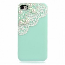 ohneed - Lace with Pearl IPhone 4/4S Case