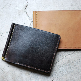 ANCHOR BRIDGE - Horween Horse Leather Money Clip マネークリップ